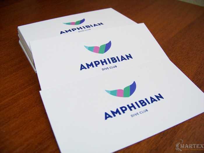 Amphibian - визитки