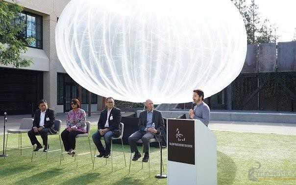 Первые 300 шаров для раздачи интернета Google запустит над Индонезией