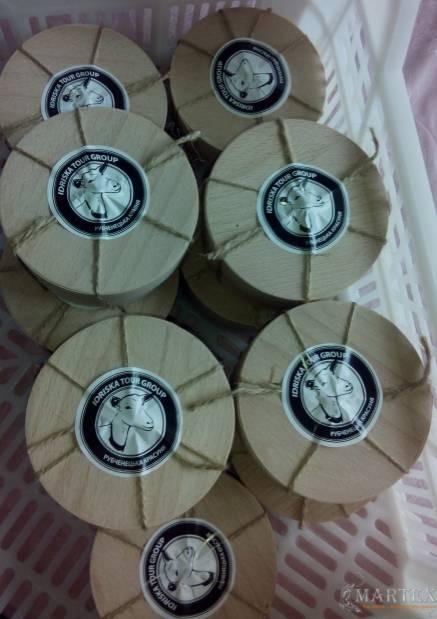 Наклейки для сыра - Рубченецька Красуня