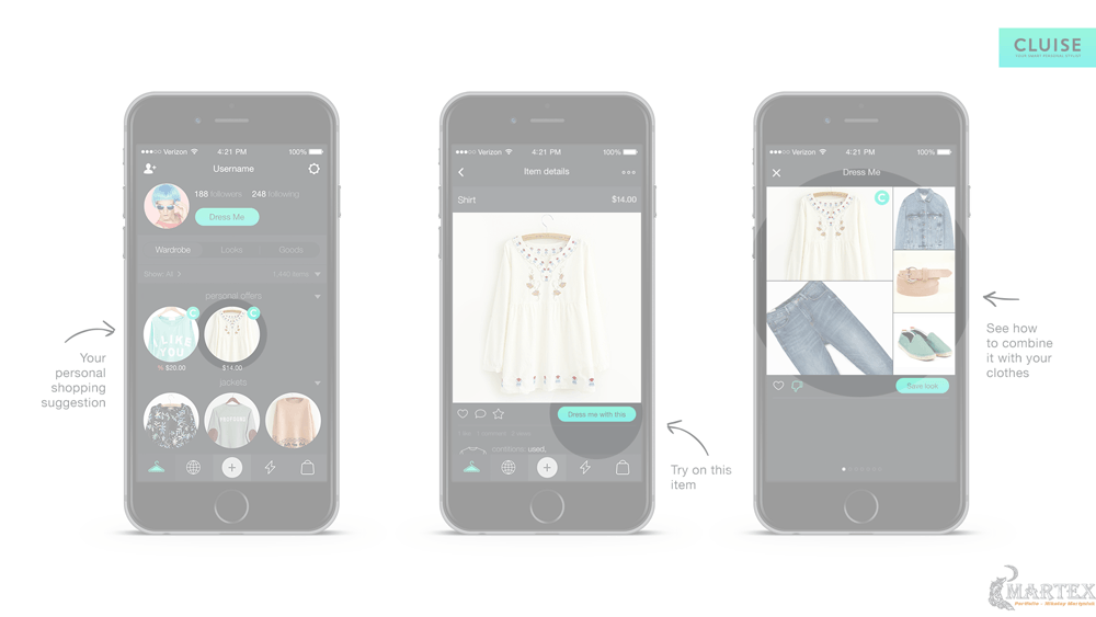 Украинский стартап Cluise создал приложение, которое само подбирает пользователю одежду в магазине