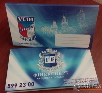 Туристические конверты Веди Тургрупп Украина и Финекс NEW-2016