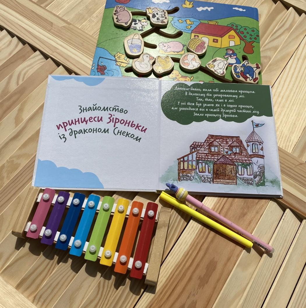 Работа над разработкой детской книги