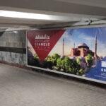 Разработка макетов билбордов PEGAS Touristik — Открываем Стамбул вместе