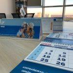 Desk calendar house flip 2021